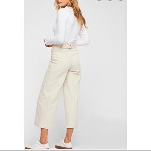 Free People Exposed Button High Rise Crop Jean 26